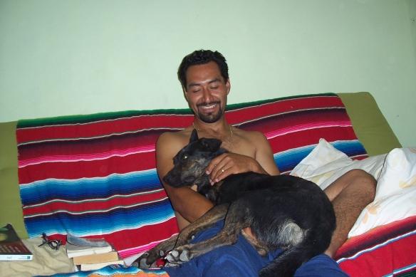 My husband Felipe