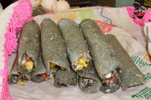 Tacos de Cuitlacoche